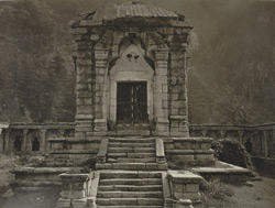 Kashmir. Temple at Bhaniyar on the road between Uri and Naoshera. The temple probably dedicated to the goddess 'Bhawani,' the wife of 'Siva.' Probable date A.D. 500 to 600 (?)